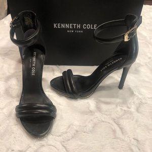 Kenneth Cole Two-Piece Black Dress Sandal